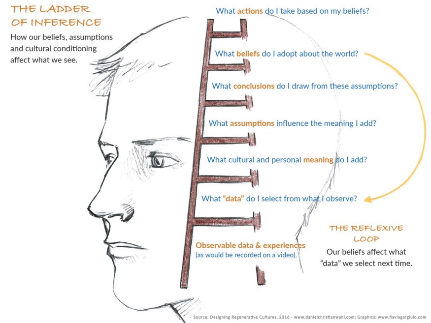 ladder of inference.
